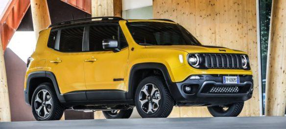 Der Jeep Renegade (2019) startet bei Händlern