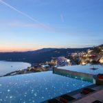 Design-Ikone mit atemberaubendem Ausblick auf Mykonos