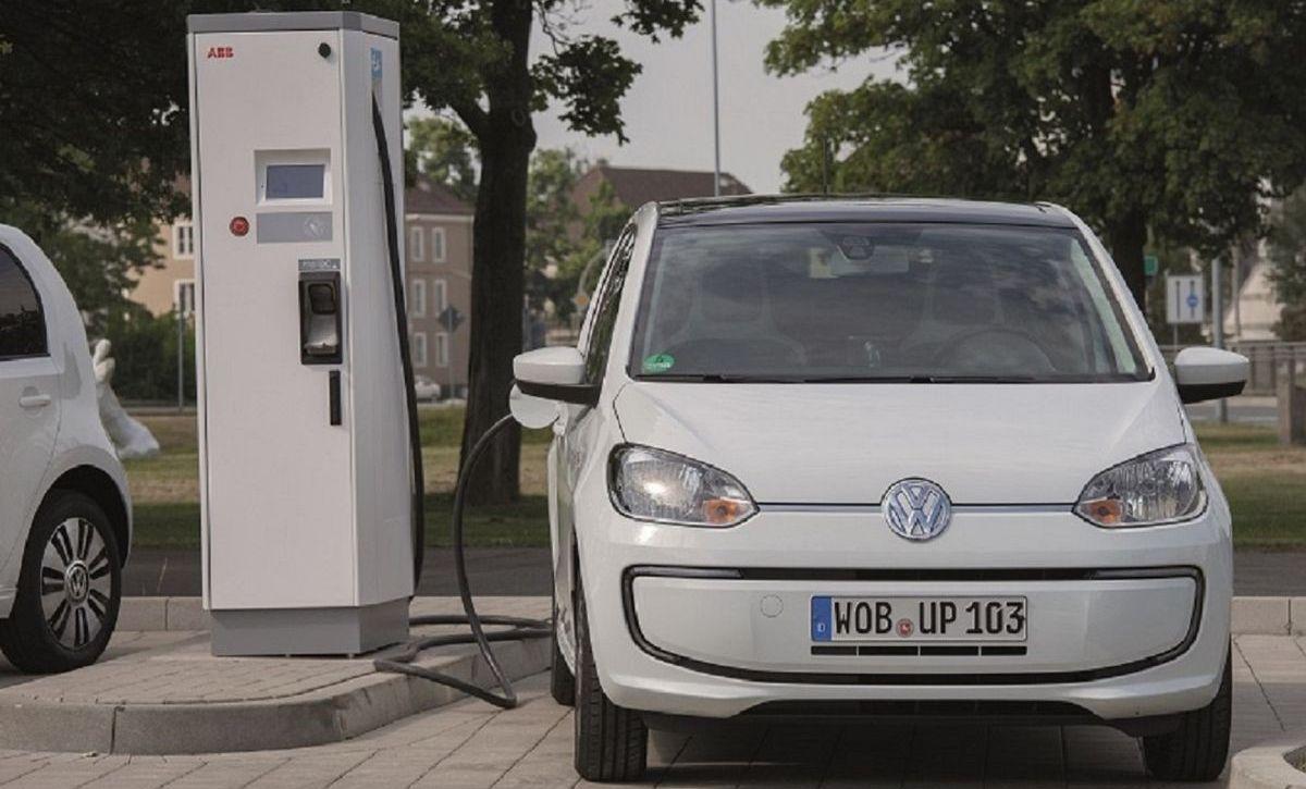 CCS-Schnell-Ladestation in Wolfsburg