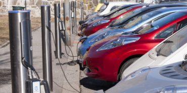 Das Verhältnis von Elektroautos zu Ladestationen