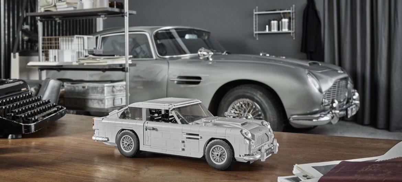 Lego nimmt sich 007's Aston vor