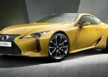 Gelber Lexus LC kommt sportlich-exklusiv