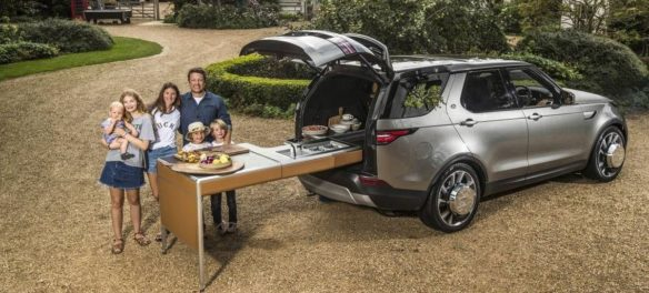 Land Rover: Jamie Olivers rollendes Kochstudio