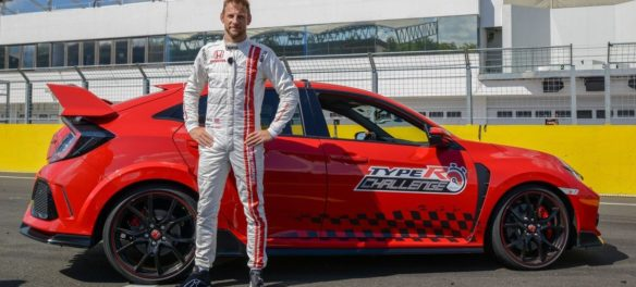 Jenson Button: Rekord-Geheize im Honda Civic Type R