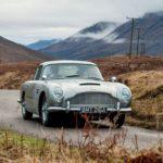 Rückkehr des Aston Martin DB5 von James Bond
