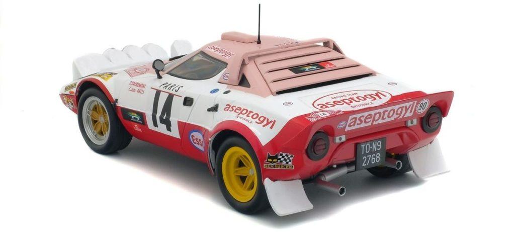 "Lancia Stratos Gr. 4 ""Rallye Monte-Carlo 1977"" von Solido im Maßstab 1:18"