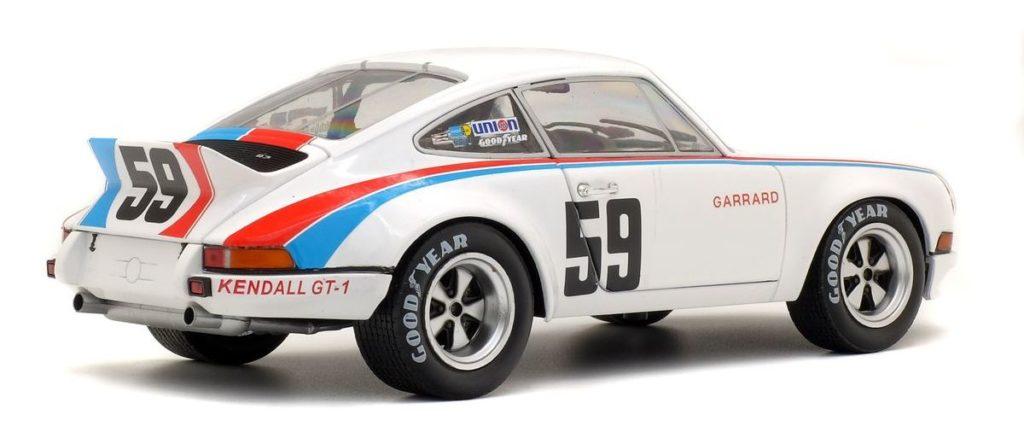 """Porsche 911 RSR Brumos """"24 Stunden von Daytona 1973"""" von Solido im Maßstab 1:18"""