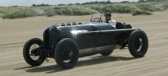 """Opel 12,3-Liter Grand-Prix Rennwagen """"Grünes Monster"""" von 1913"""