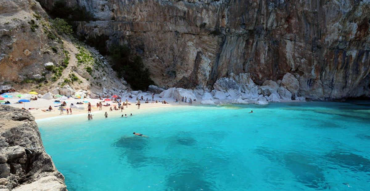 Italien: Cala Mariolu auf Sardinien