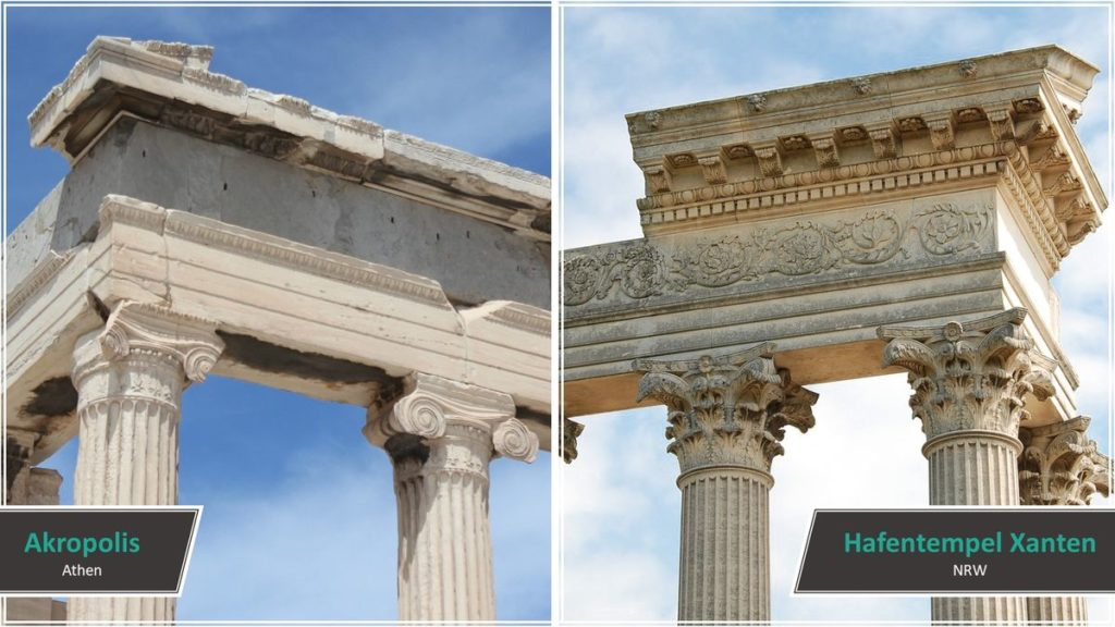Akropolis vs. Hafentempel