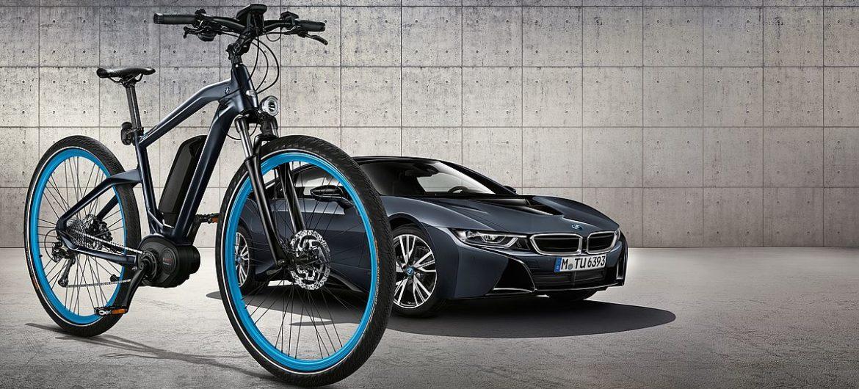 BMW ist aufs Fahrrad gekommen