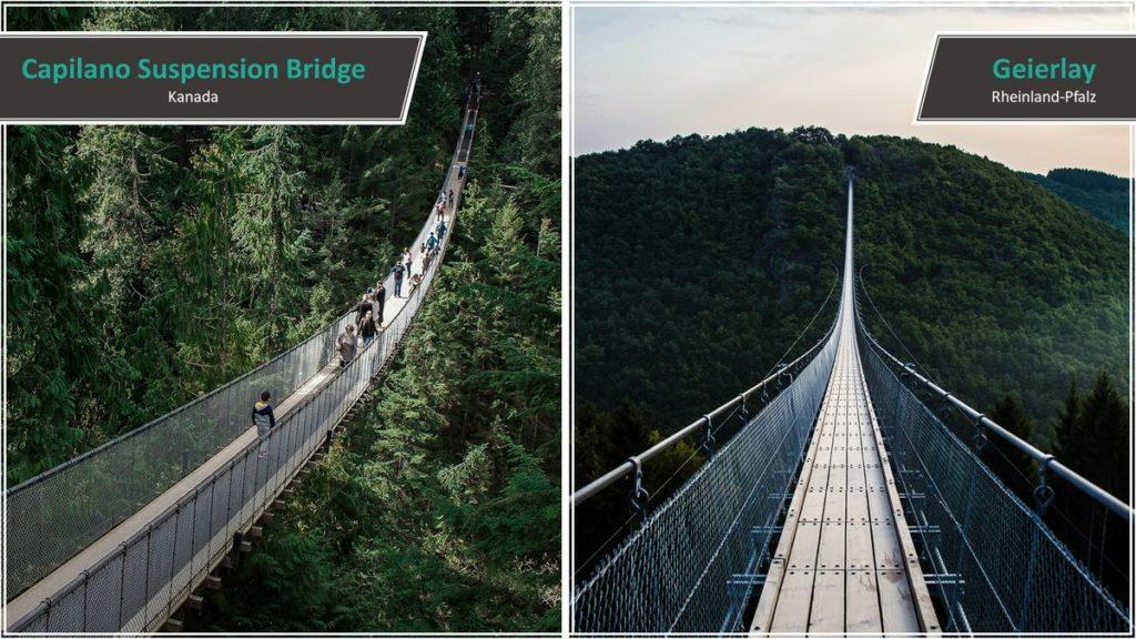 Capilano Suspension Bridge vs. Geierlay