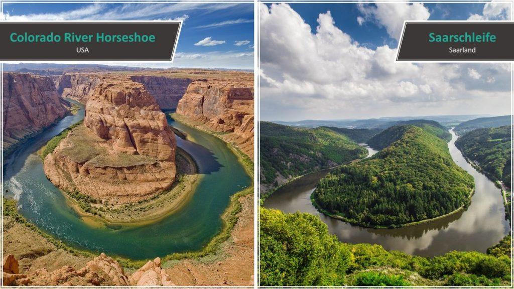 Colorado River Horseshow vs. Saarschleife