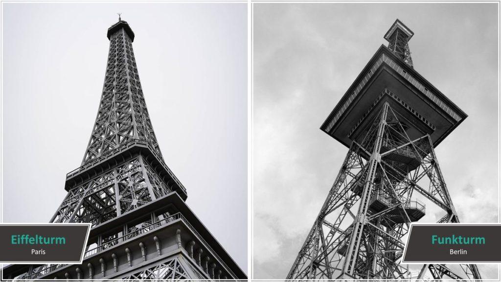 Eiffelturm vs. Funkturm