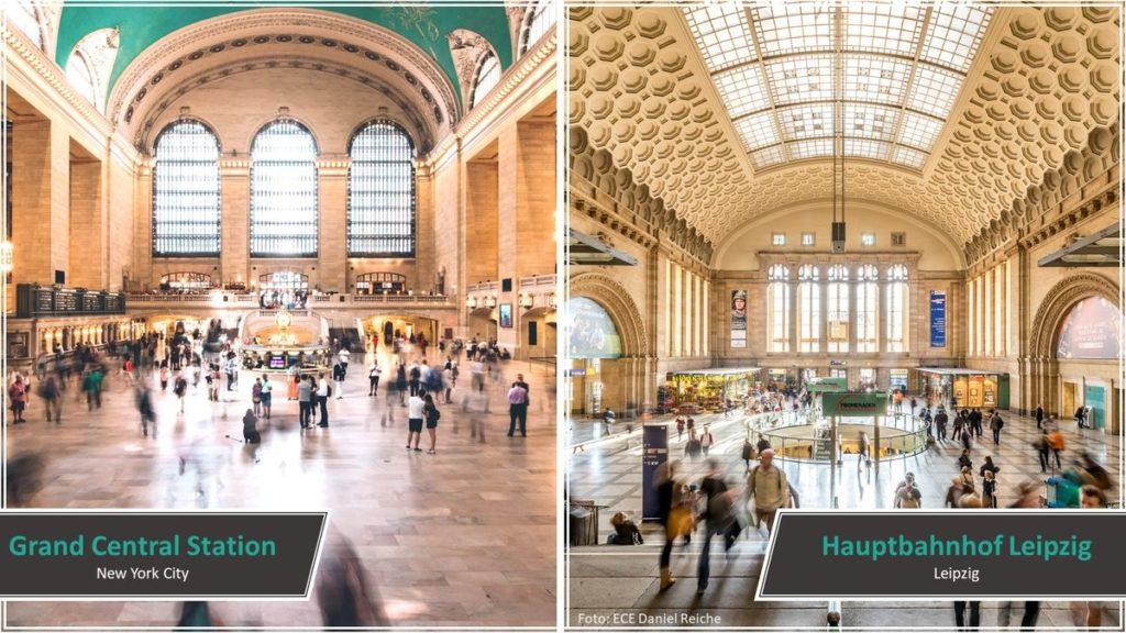 Grand Central Station vs. Hauptbahnhof Leipzig