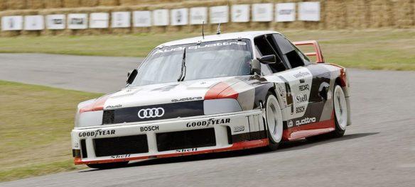 Audi schickt zum 17. Hamburger Stadtpark-Revival krasse Boliden auf die Rennstrecke
