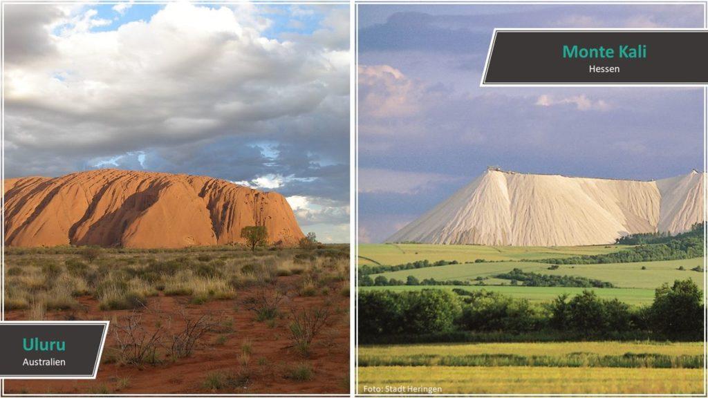Uluru vs. Monte Kali