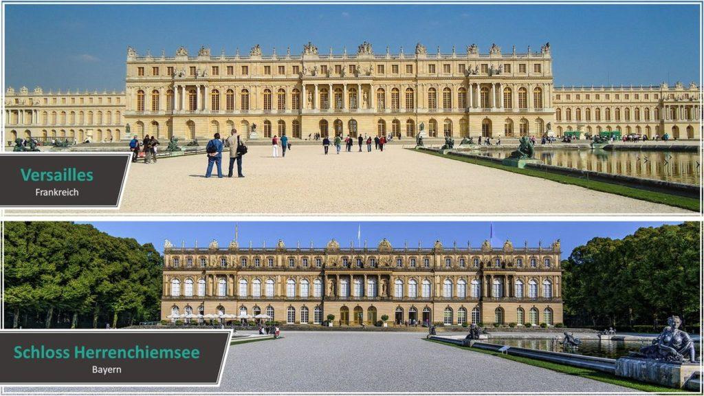 Versailles vs. Schloss Herrenchiemsee