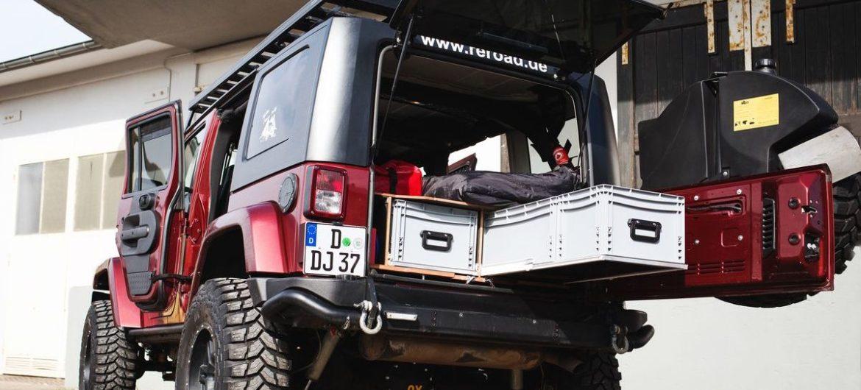 Jeep Wrangler als Reisemobil