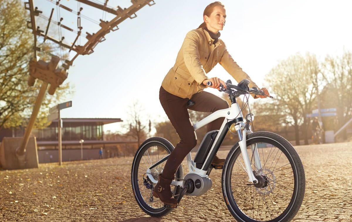 BMW Cruise E-Bike