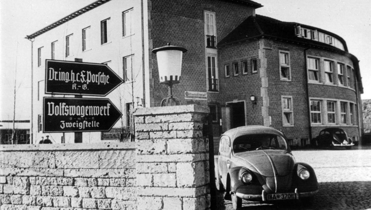Ein Backsteingebäude vom 1938 (heute Werk1) markierte 1938 den Anfang.