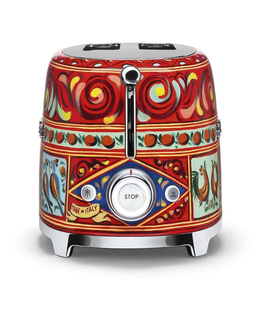 Smeg, Dolce & Gabbana Toaster