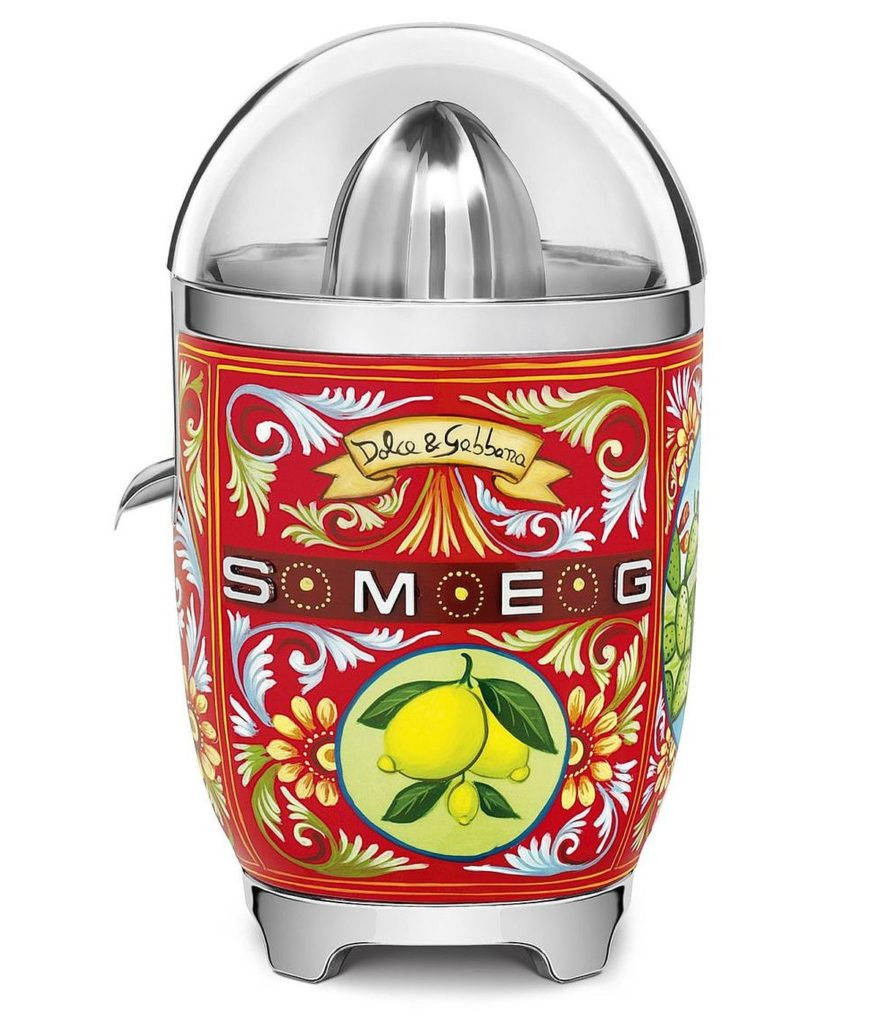 Smeg, Dolce & Gabbana Zitronenpresse