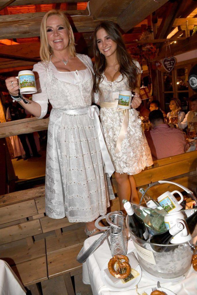 Claudia Effenberg und Tochter Lucia Strunz