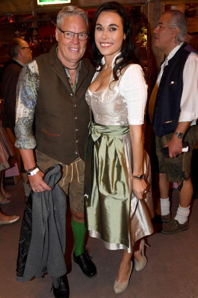 Heiner Kamps mit Frau Ella