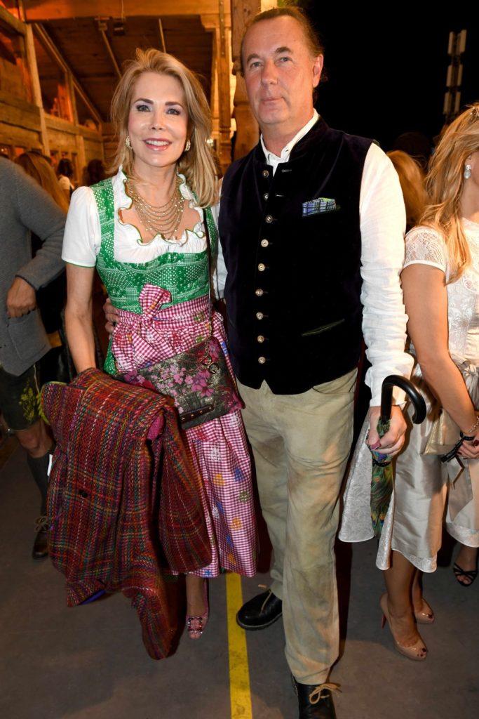 Gabriele Prinzessin zu Leiningen mit Jürgen Kellerhals