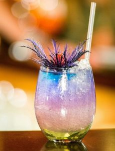 Jimi's Blue, der neue Cocktail in Jimmy's Bar.