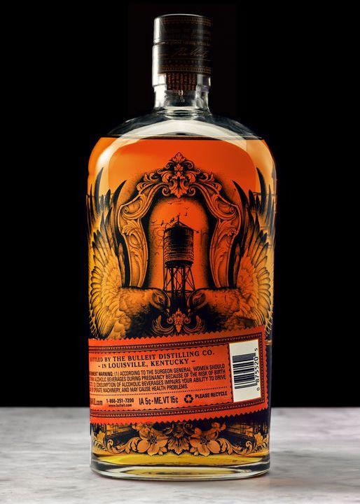 Bulleit Kentucky Straight Bourbon Whiskey, limitierte Tattoo Edition