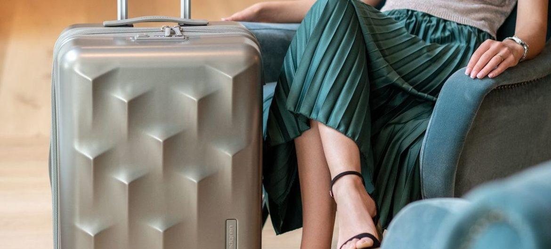 Handgepäck im luxuriösen Design