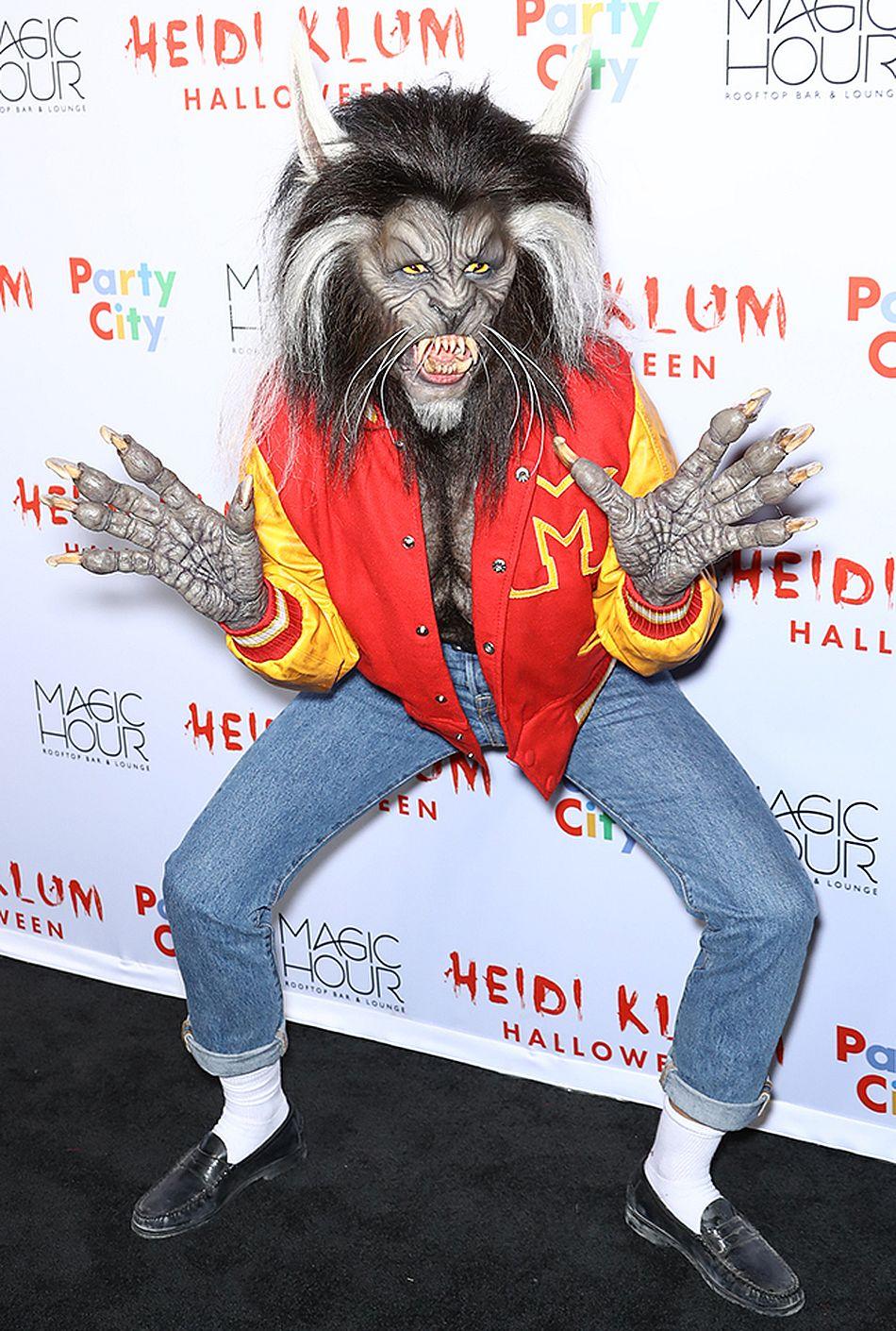 Heidi Klum auf ihrer Halloween-Party 2017
