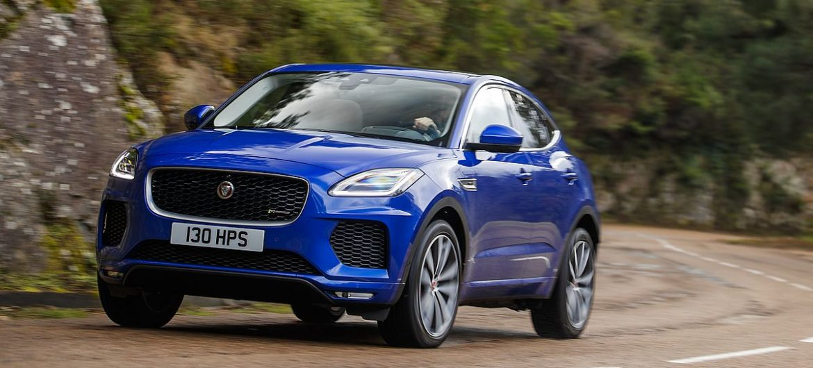 #Test Video: Jaguar E-Pace (2018)