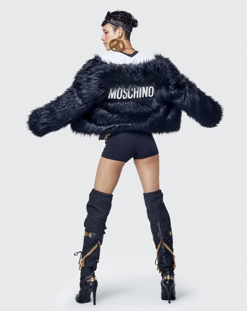 H&M, Jeremy Scott, Moschino