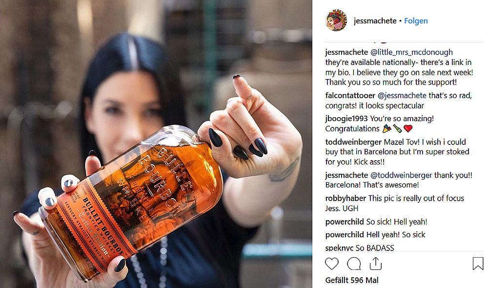 Jess Mascetti, Instagram @jessmachete