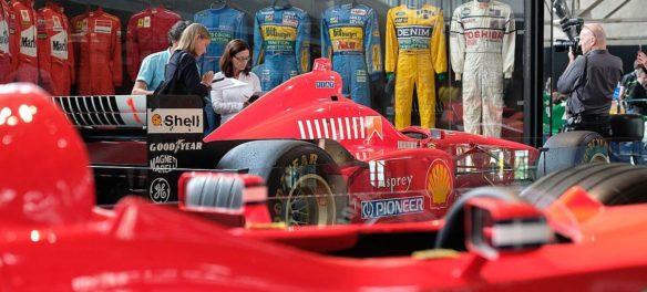 Im Gespräch bei Radio Oldtimer: Die Michael Schumacher Private Collection