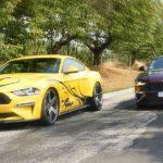 Facelift-Mustang mit Kompressor