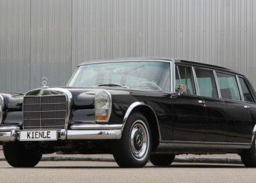Playboy-Limousine: Hugh Hefners 600er Pullman in Deutschland restauriert