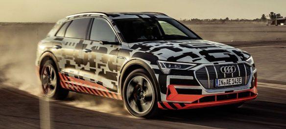 Audi schickt den e-Tron in die Wüste
