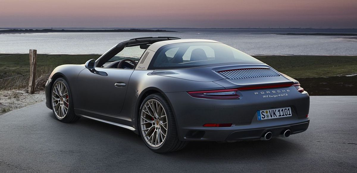 Porsche 911 Targa 4 GTS Exclusive Edition