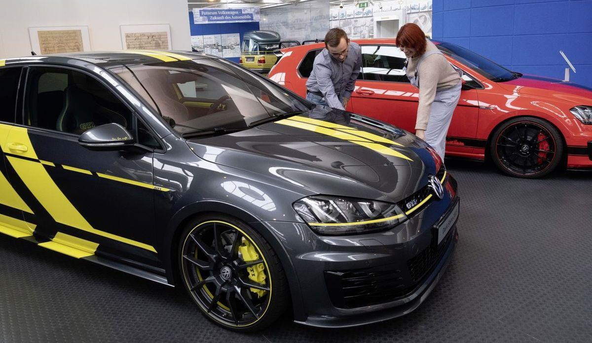 """Wörthersee-GTI Ausstellung """"Kult und Power"""" im Automuseum Volkswagen, Wolfsburg."""