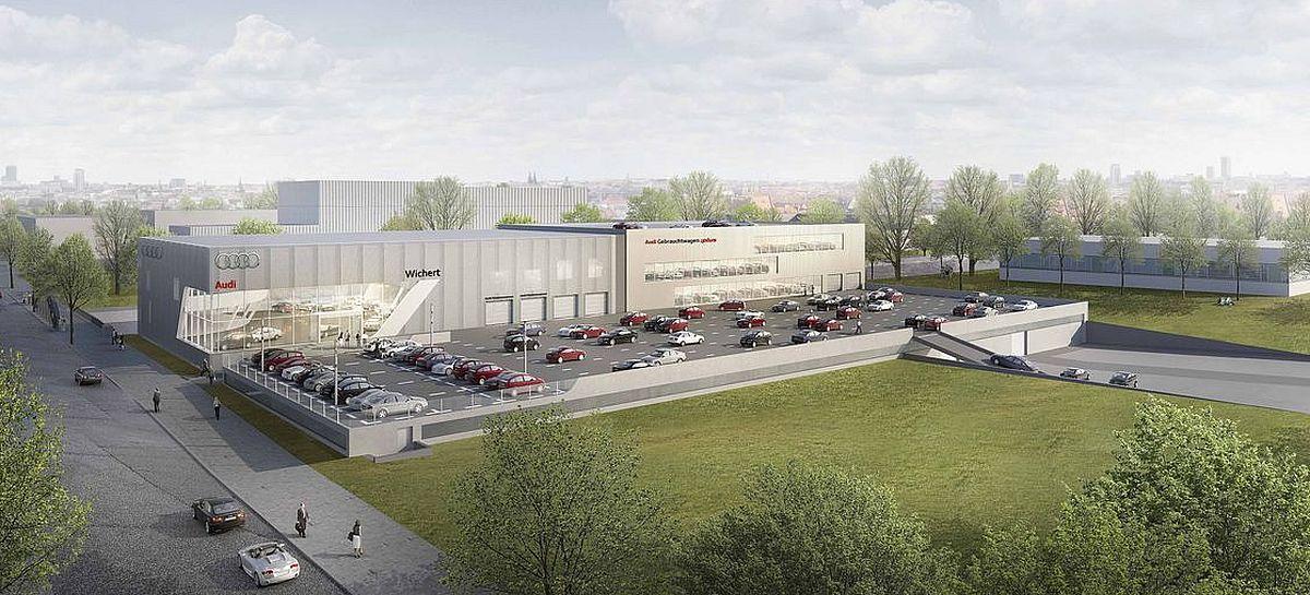 Auto Wichert, Audi-Terminal, Hamburg-Hammerbrook