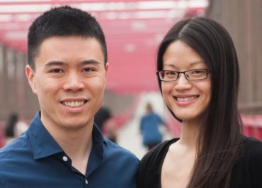 Phillis Chan und Ben Chaung