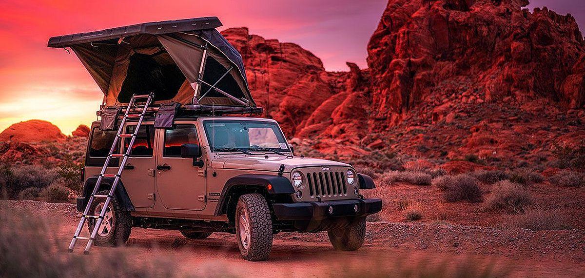 Mit Jeep und Dachzelt durch den Südwesten der USA