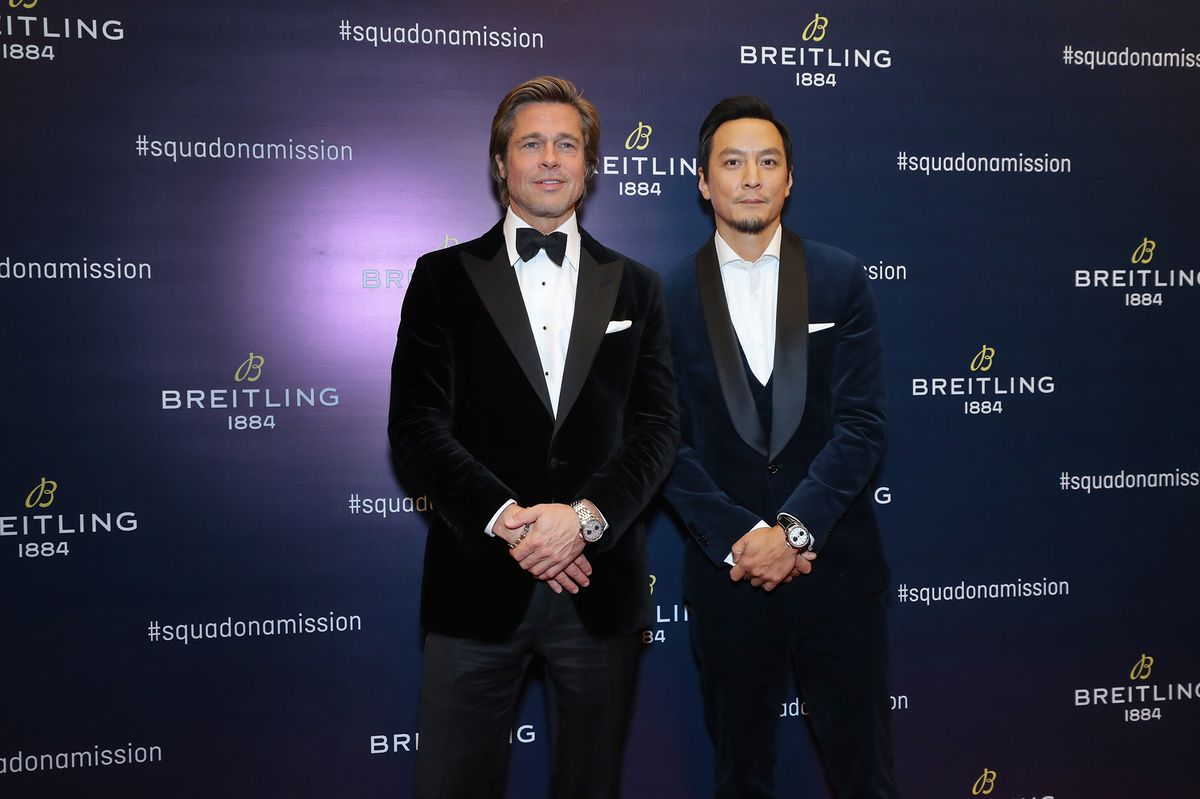 Brad Pitt, Daniel Wu
