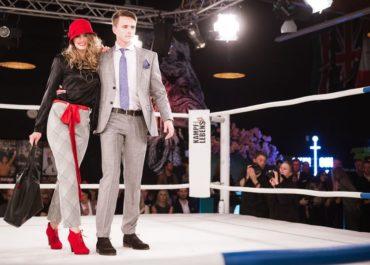 Fashionduell im Boxring