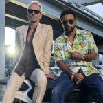 Cooler Cop-Style: Sting und Shaggy rocken die Gangster im Abarth 124 Spider