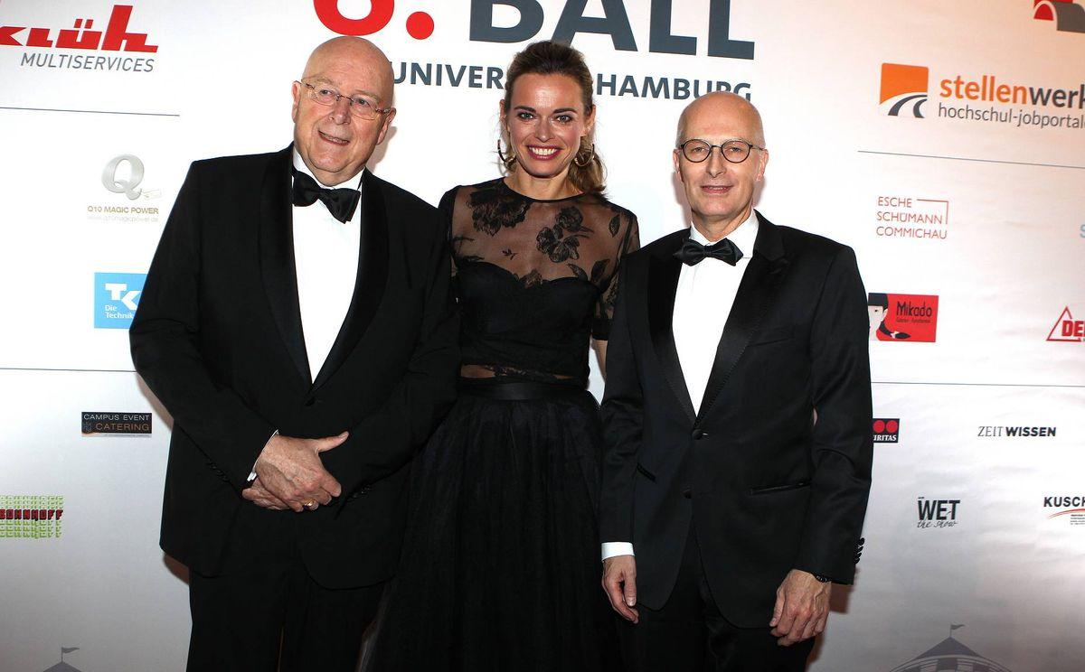 Prof. Dr. Dr. h.c. Dieter Lenzen, Susanne Böhm, Dr. Peter Tschentscher